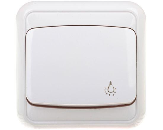 COSMO Przycisk /światło/ biały 300403