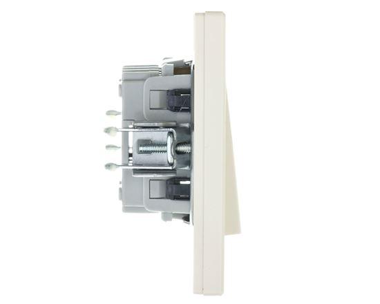 ASFORA Łącznik schodowy zaciski śrubowe kremowy EPH0400323