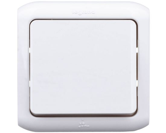 FORIX Łącznik jednobiegunowy biały 782360