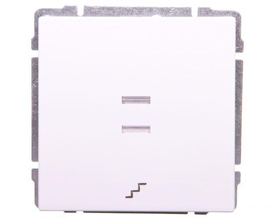 KOS66 Łącznik schodowy podświetlany biały 620416