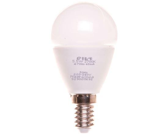 Żarówka LED 5,5W E14 2700K 470lm WW P45 FR ND PILA 8727900964271
