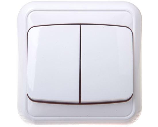 COSMO Łącznik świecznikowy biały 300405