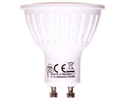 Żarówka LED GU10 7W TOMI LED7W GU10-WW 500lm ciepłobiała 22821