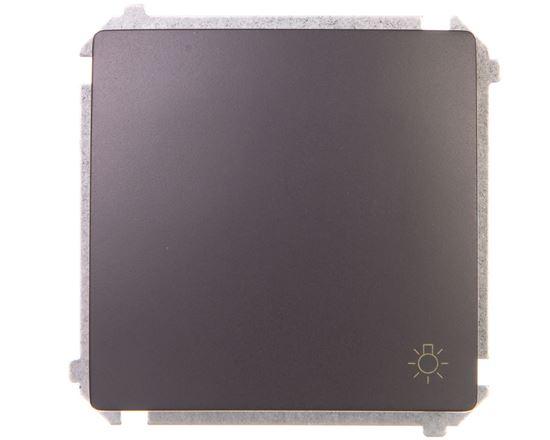 Simon Basic Przycisk /światło/ grafit matowy BMS1.01/28
