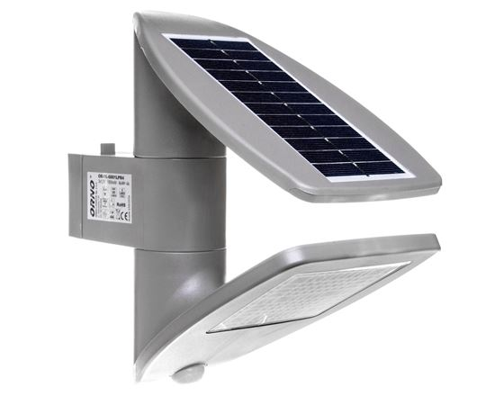 Oprawa solarna SAURO LED z czujnikiem ruchu 2,4W 200lm IP44 4000K OR-SL-6001LPR4