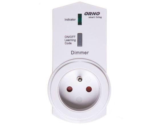 Gniazdo z funkcją ściemniania, sterowane bezprzewodowo smartfonem Smart Living OR-SH-1702