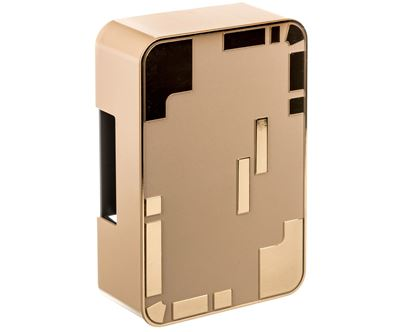 Dzwonek elektromechaniczny dwutonowy 85dB 230V AC kremowo/złoty 95 KRM/ZLO SUB10000335