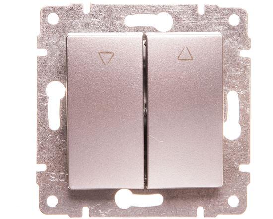 VENA Przycisk żaluzjowy aluminium 514018