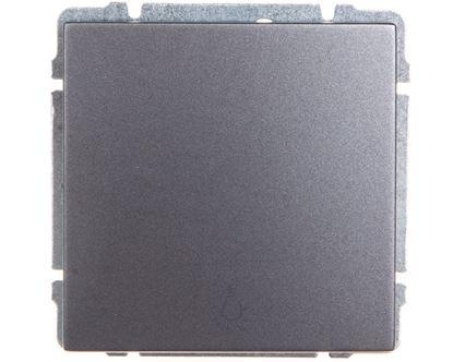 KOS66 Przycisk /światło/ grafit 666013