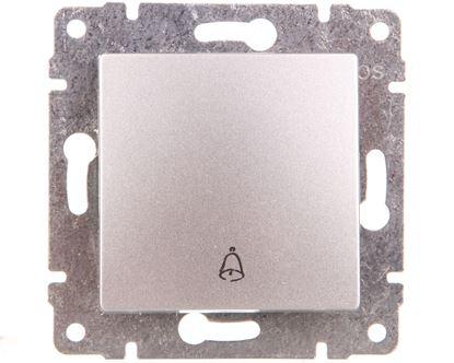 VENA Przycisk /dzwonek/ aluminium 514014