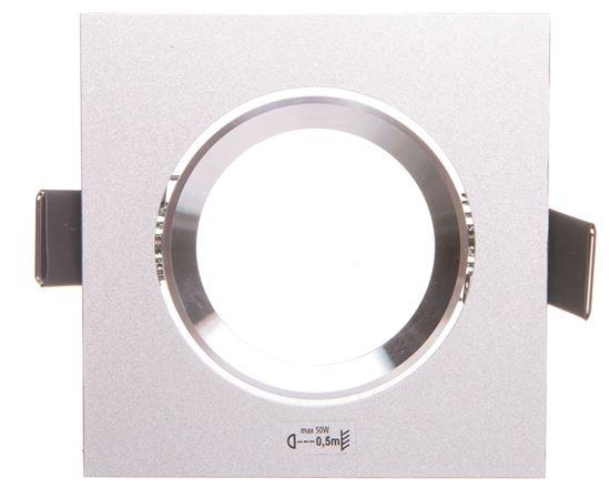 Oprawa punktowa 1x50W GX5,3 IIIkl. 12V IP20 RADAN CT-DTL50 aluminium 07361