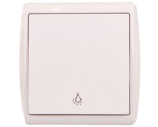 KOS1 Przycisk /światło/ biały 110403