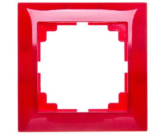 Sentia Ramka pojedyncza czerwony połysk 1471-59