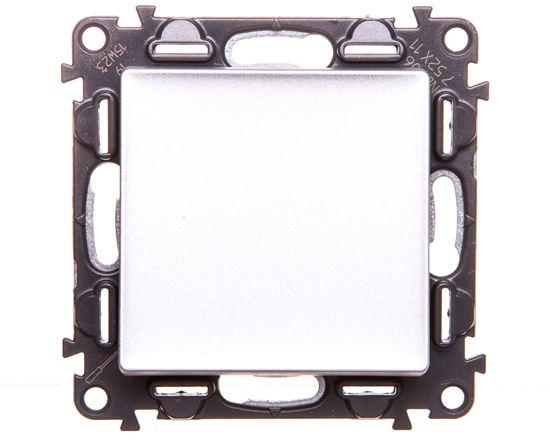 VALENA LIFE Przycisk przełączny aluminium 752311