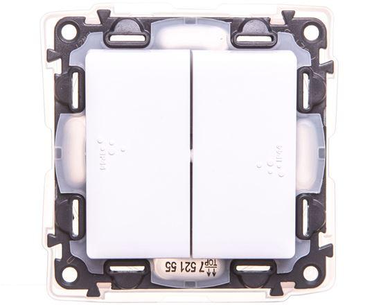 VALENA LIFE Łącznik świecznikowy IP44 biały 752155