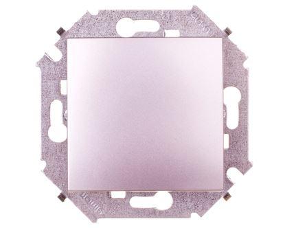 Simon 15 Łącznik jednobiegunowy aluminium metalizowane 1591101-026