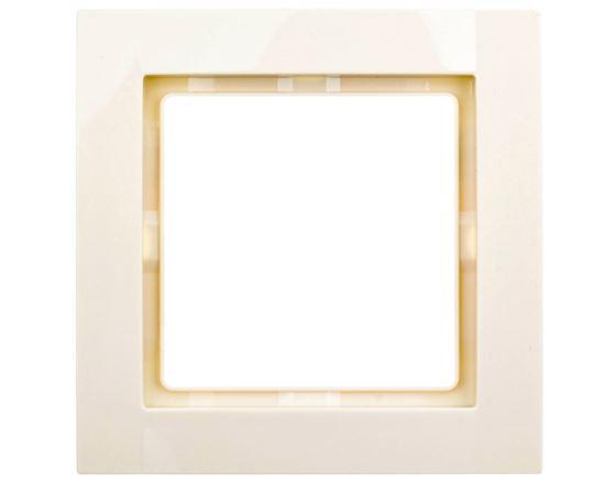 Fiorena Ramka pojedyncza pozioma/ pionowa kremowa 22011603