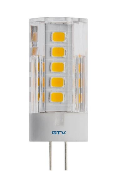 Żarówka LED SMD 2835 neutralnabiała G4 3,5W 12V DC 360st. LD-G4P35W-40