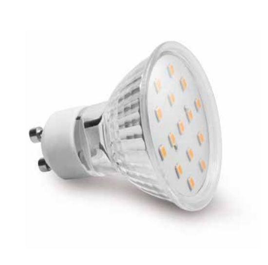 Żarówka LED GU10 4W 340lm 6400K AC230V 120st. LD-SZ1510-64
