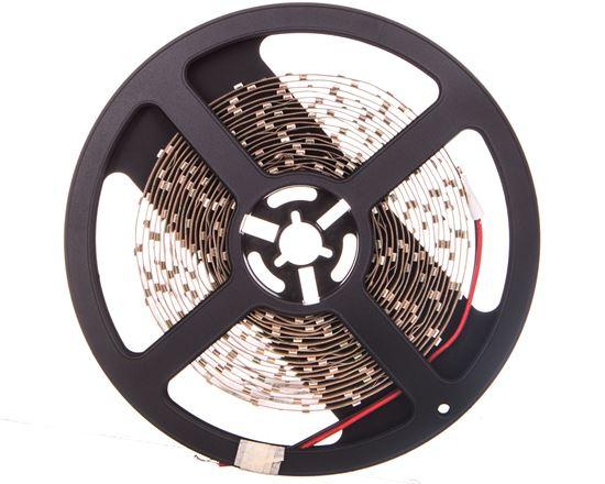 Taśma FLASH 3528 300 LED zimny biały 24W bez żelu 8mm rolka 5m LD-3528-300-20-ZB