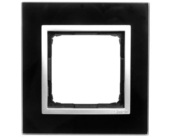 Simon 54 Nature Ramka pojedyncza szkło KSIĘŻYCOWA LAWA DRN1/74