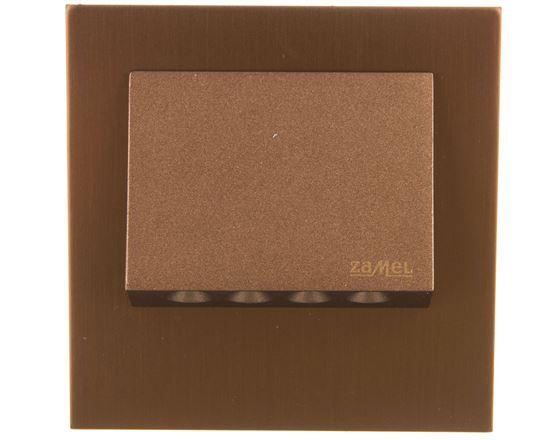 Oprawa LED NAVI z ramką PT 14V DC ZLO biała ciepła 11-211-42 LED11121142