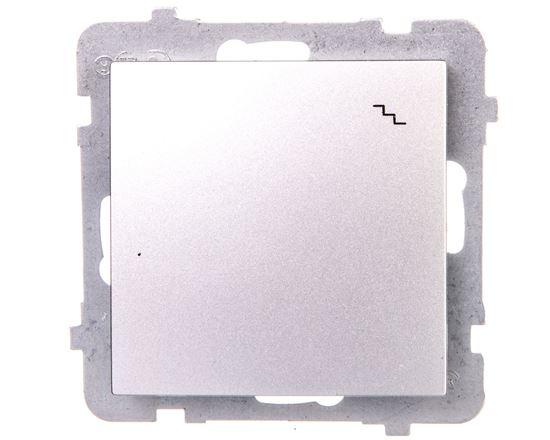 AS Łącznik schodowy srebro ŁP-3G/m/18