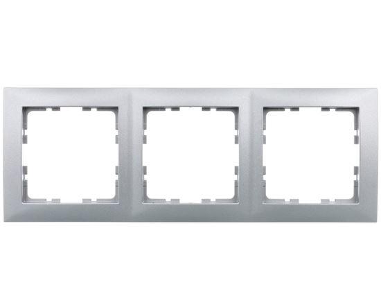 B.Kwadrat Ramka potrójna aluminium 5310138994