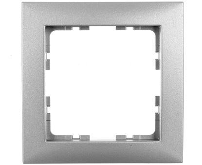 B.Kwadrat Ramka pojedyncza aluminium 5310118994