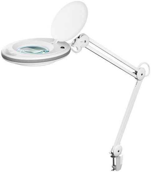 Lampa lupa LED z zaciskiem 7,5W 520lm powiększenie 1,75x 45271