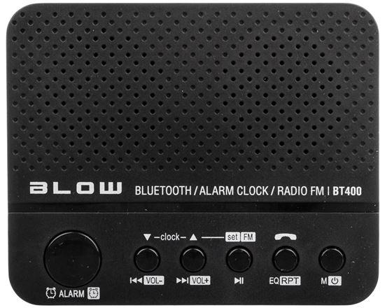 Głośnik Bluetooth BT400 zegar / radio FM 30-314#