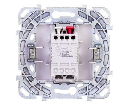 Unica Plus Przycisk pojedynczy element podstawowy biały IP44 przycisk 1x MGU50.206.18Z