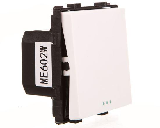TouchMe Mechanizm łącznik pojedynczy schodowy biały ME602W