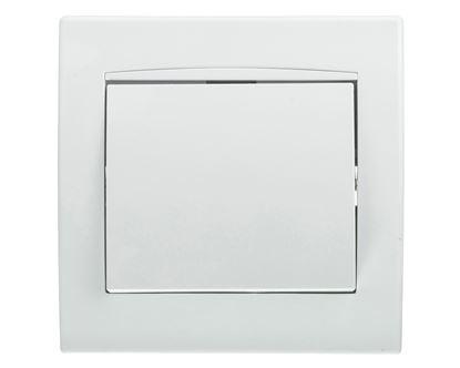 Anya Łącznik jednobiegunowy 10AX z ramką biały AYA0100121