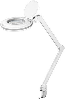 Lampa lupa LED z zaciskiem 8,5W 800lm powiększenie 1,75x 45273