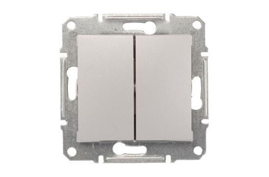Sedna Łącznik świecznikowy 10AX aluminium IP20 SDN0300160