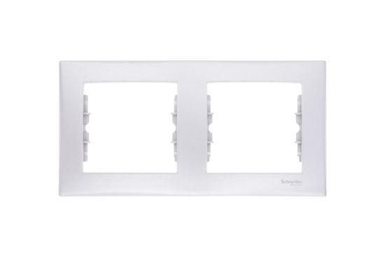 Sedna Ramka podwójna pozioma aluminium SDN5800360