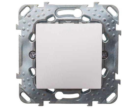 Unica Plus Łącznik schodowy biel polarna IP20 MGU50.203.18Z