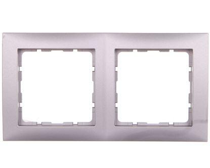 B.Kwadrat Ramka podwójna aluminium 5310128994