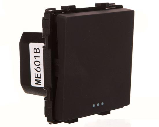 TouchMe Mechanizm łącznik pojedynczy czarny ME601B