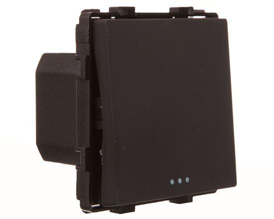 TouchMe Mechanizm łącznik pojedynczy schodowy czarny ME602B