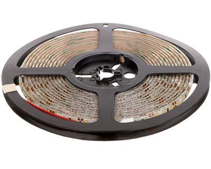 Taśma FLASH 3528 600 LED ciepły biały 48W wodoodporna 8mm ROLKA IP65 LD-3528-600-65-CB /5m/