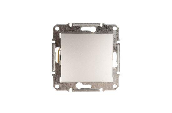 Sedna Łącznik schodowy 16AX aluminium IP20 SDN0400460