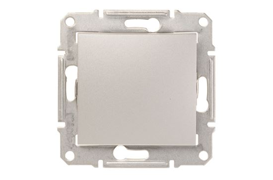Sedna Przycisk jednobiegunowy 1Z aluminium SDN0700160