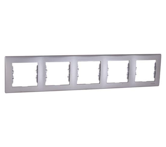 Sedna Ramka pięciokrotna aluminium pozioma SDN5800960