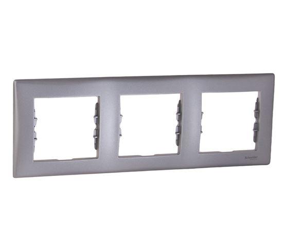 Sedna Ramka potrójna pozioma aluminium SDN5800560