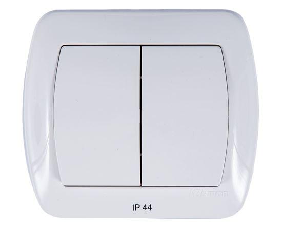 Simon Akord Łącznik bryzgoszczelny świecznikowy IP44 biały AW5B/11