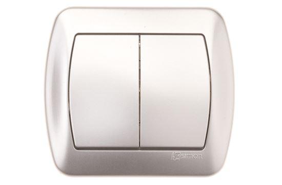 Simon Akord Łącznik świecznikowy aluminium metalizowane AW5/26