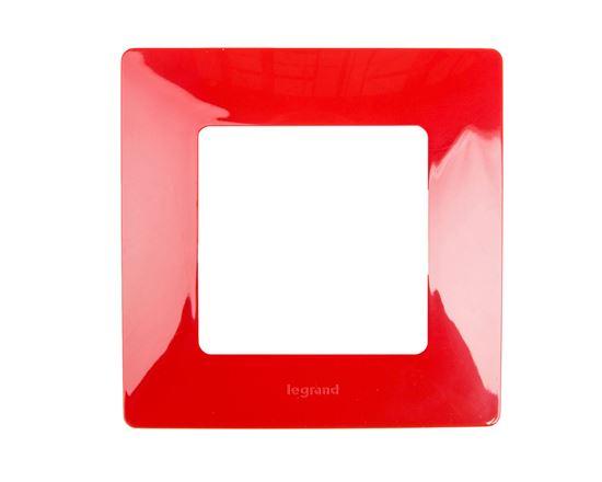 NILOE Ramka pojedyncza czerwona 665021