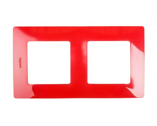 NILOE Ramka podwójna czerwona 665022